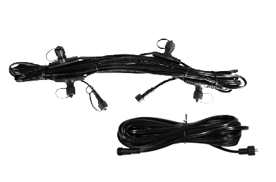 25′ Lighting Cables W/Quick-Connects